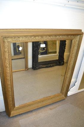 Rectangular Gilt Framed Wall Mirror
