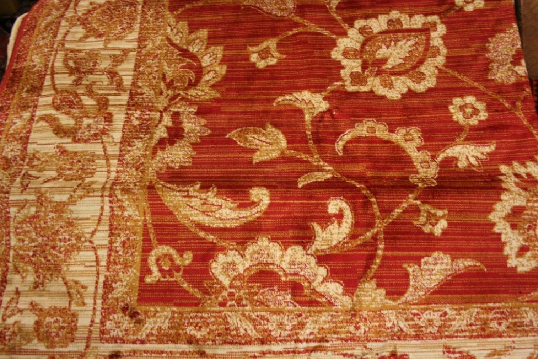 Ziegler style machine woven red ground carpet, 2.80 x 2
