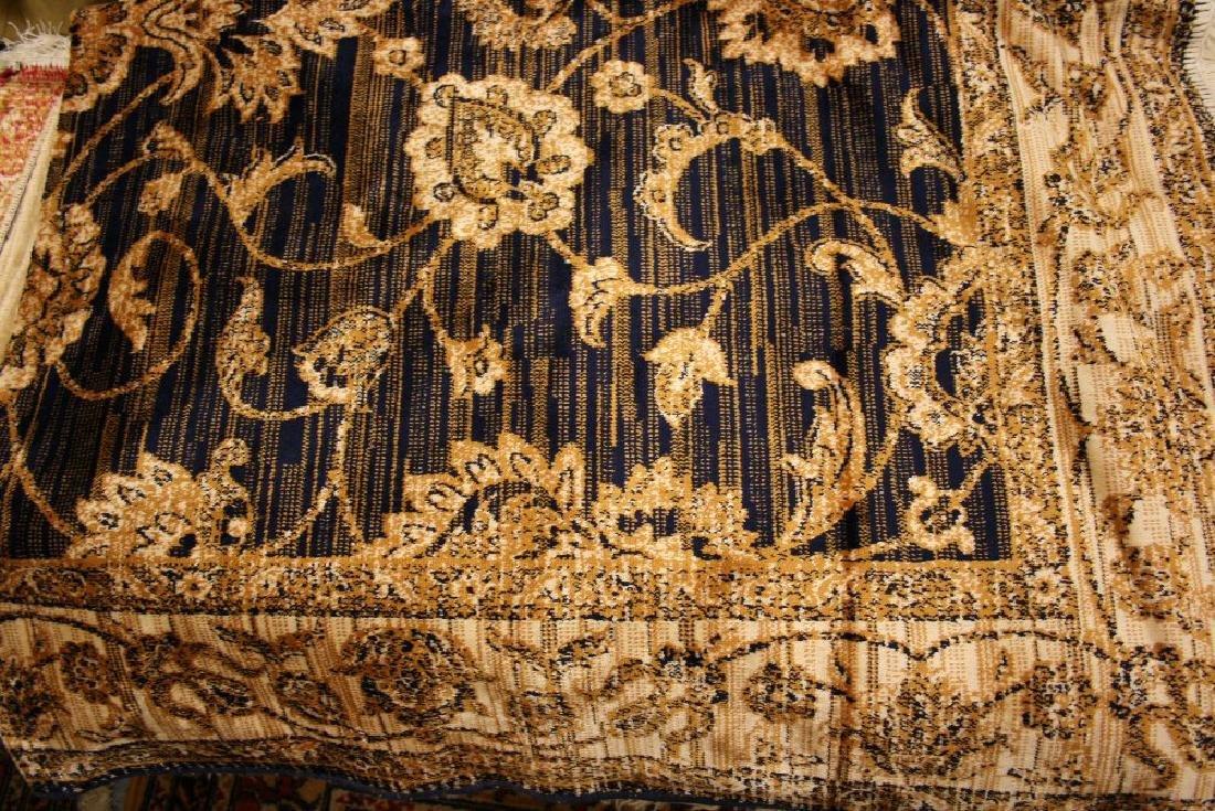 Ziegler style machine woven blue ground carpet, 1.90 x