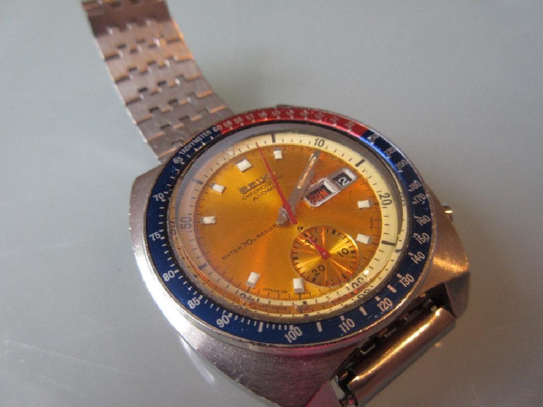 Gentleman's Seiko stainless steel cased chronograph