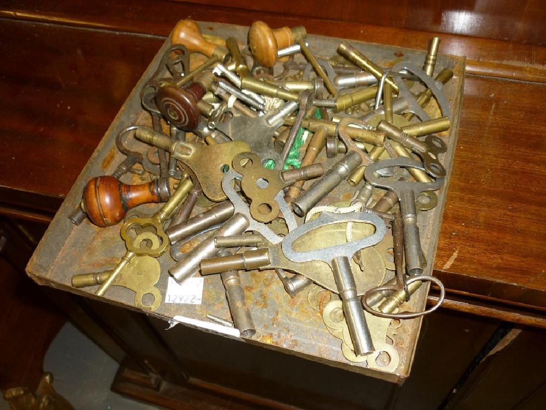 Quantity of various clock keys