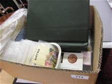 Collection of World stamps housed in an album and loose