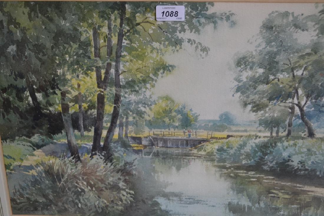 Albert Houghton, group of five various framed