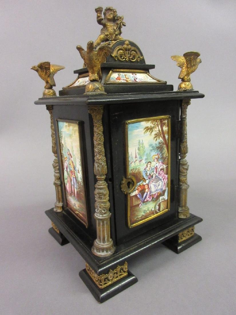 19th Century Continental (possibly Viennese) ebonised,