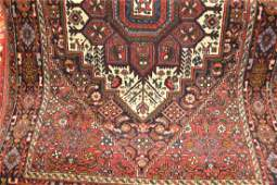 Small mid 20th Century Persian rug with medallion and