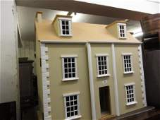 Modern dolls house in Georgian style (unfinished)