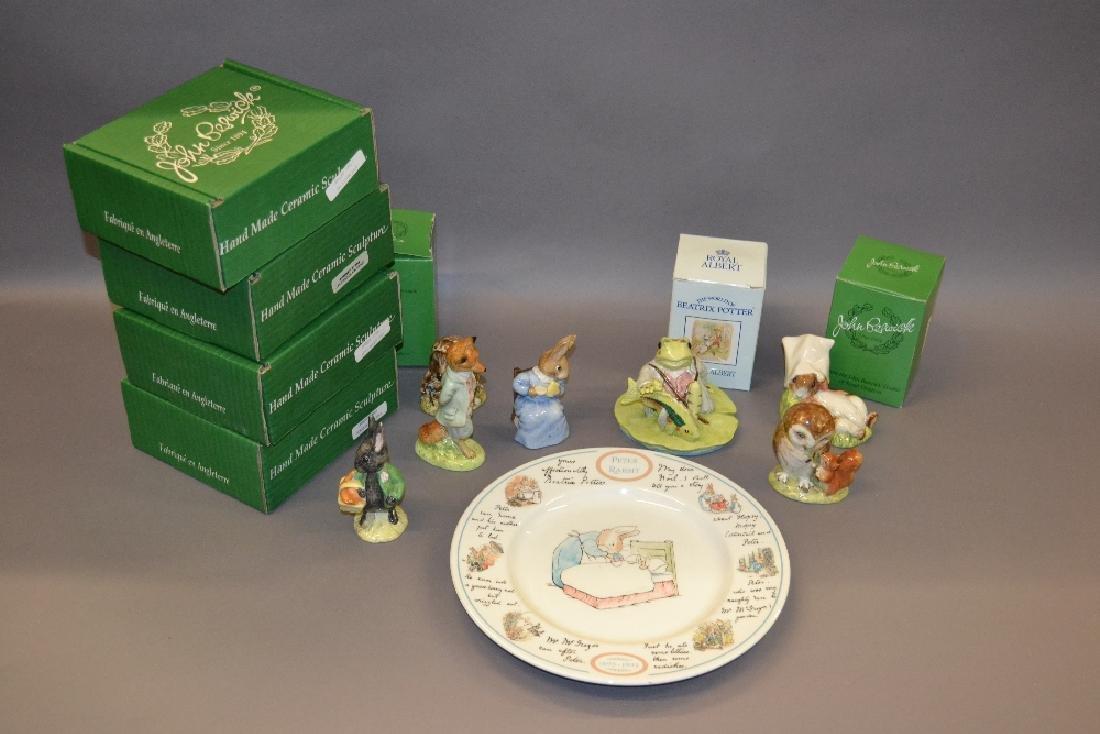 Collection of thirteen Beswick Beatrix Potter figures