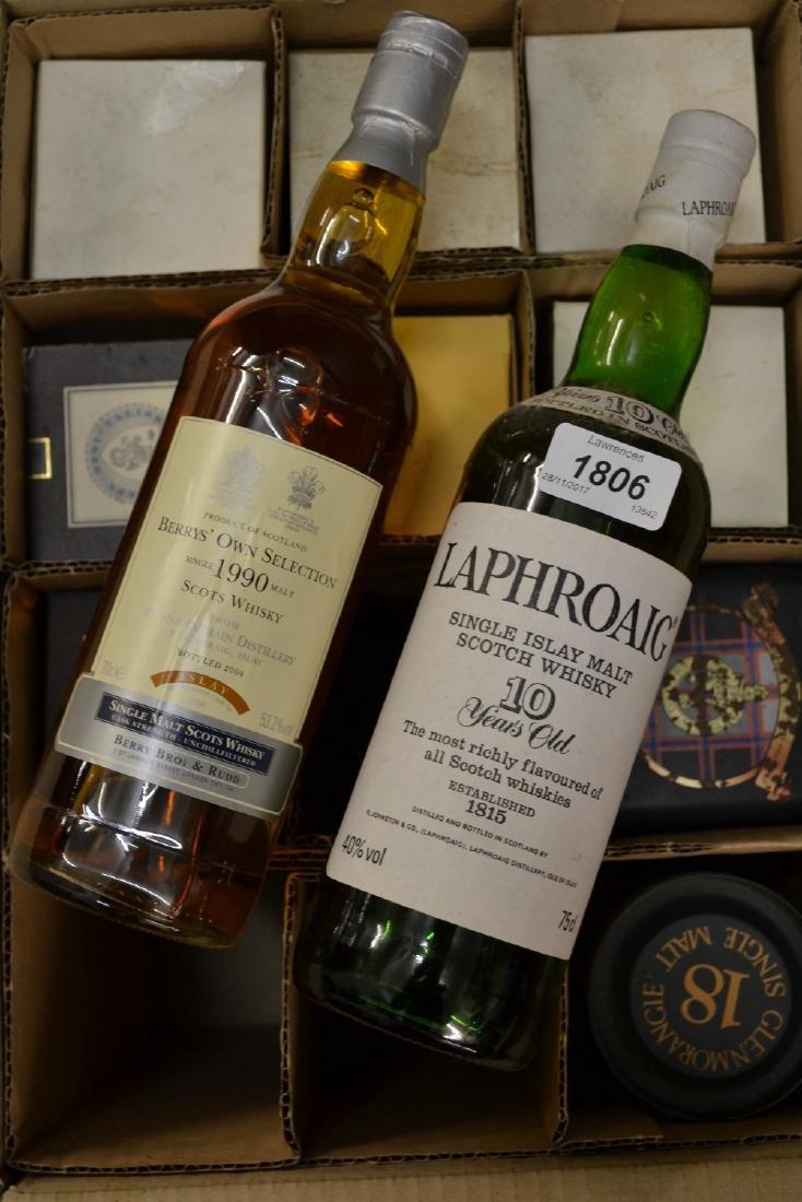 Eleven bottles of single malt Whisky including