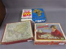 Victory geographical wooden puzzle a childs Morrell