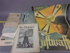 Collection of German World War II envelopes an SS