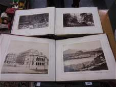 Two albums containing a collection of late 19th Century