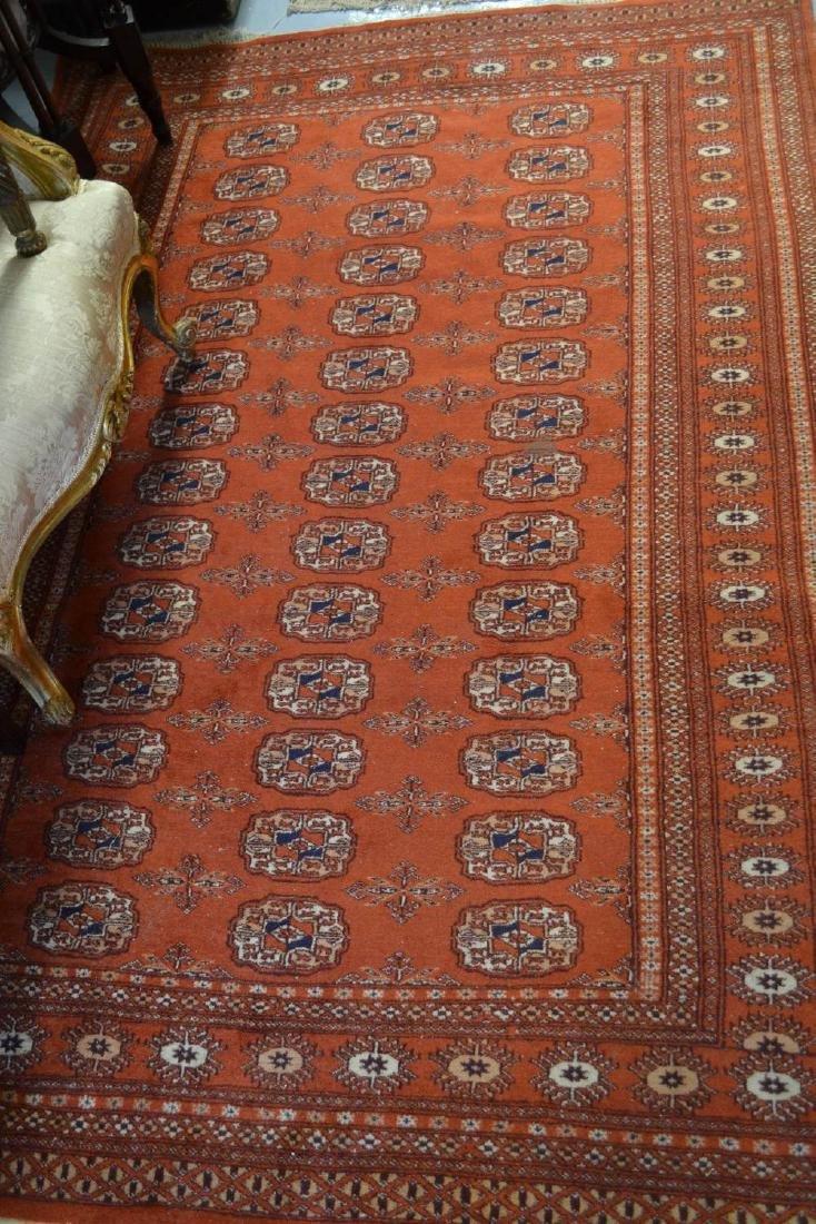 Two Pakistan rugs of Turkoman design having multiple