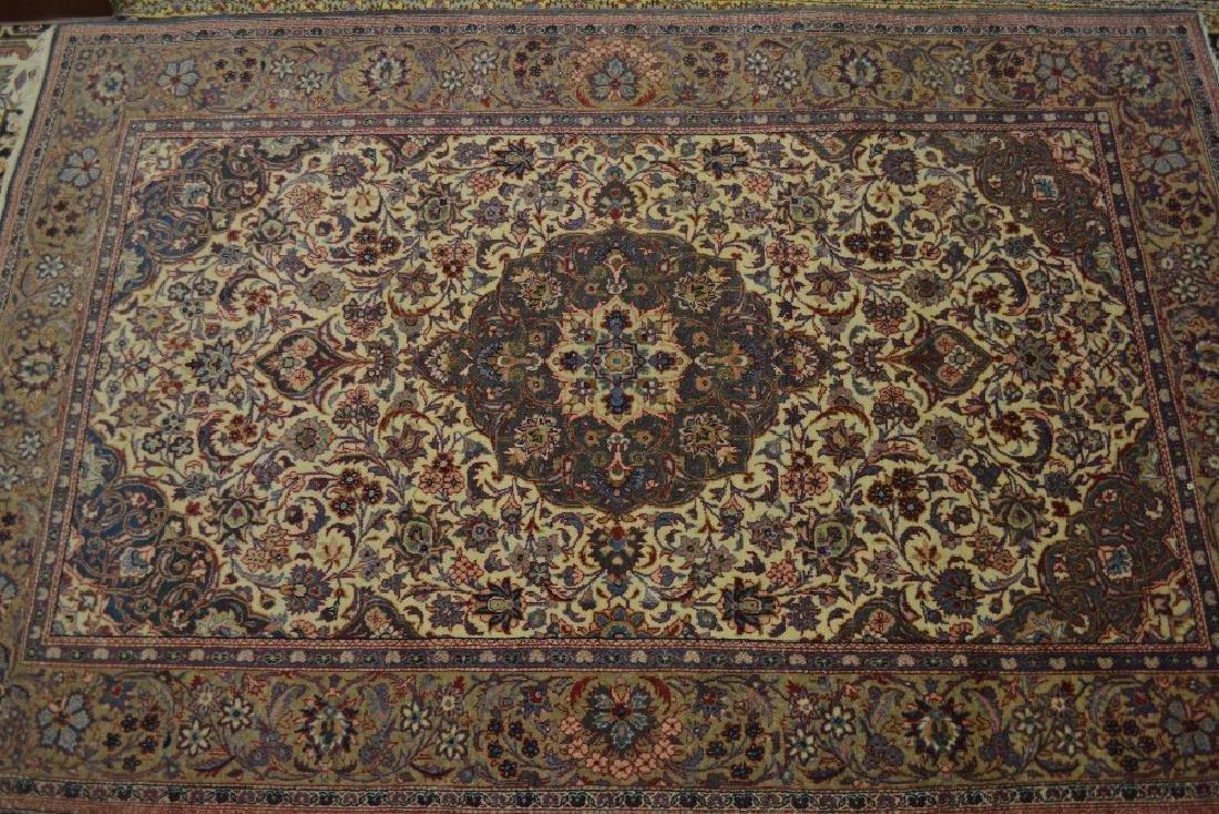Near matching Kirman rug (slight colour variation)