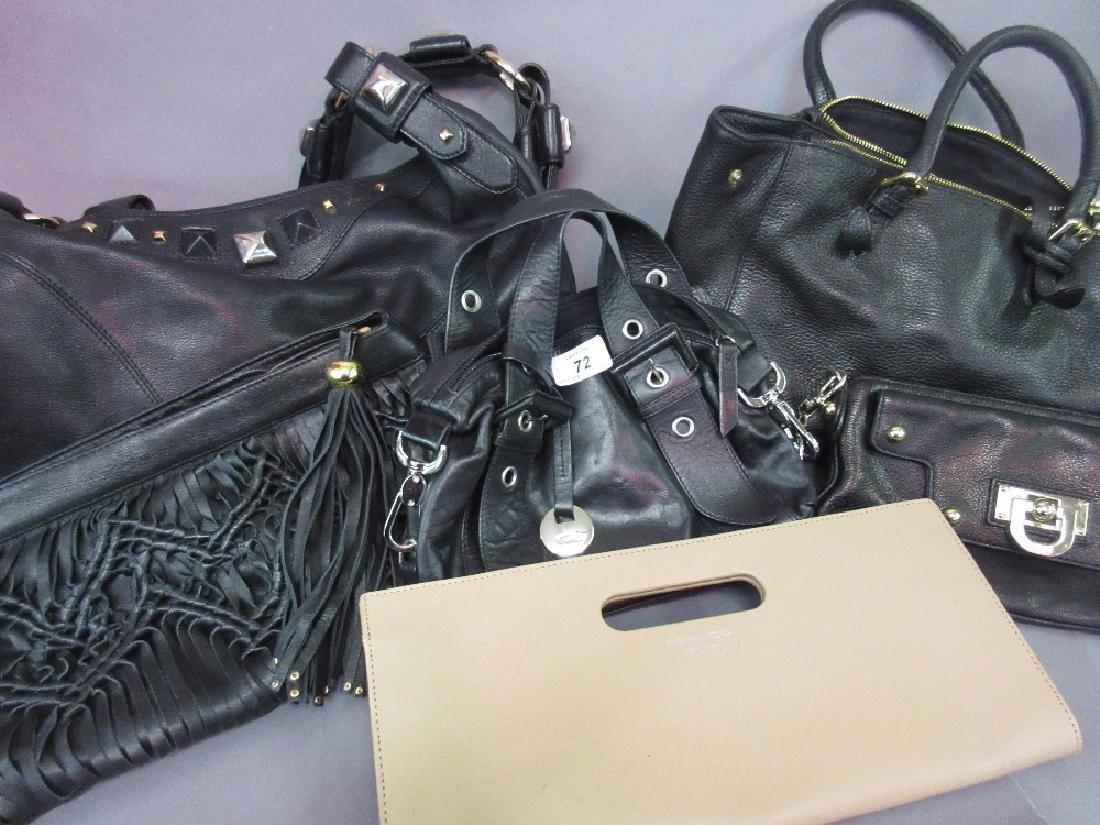 Quantity of handbags including Michael Kors, Biba,
