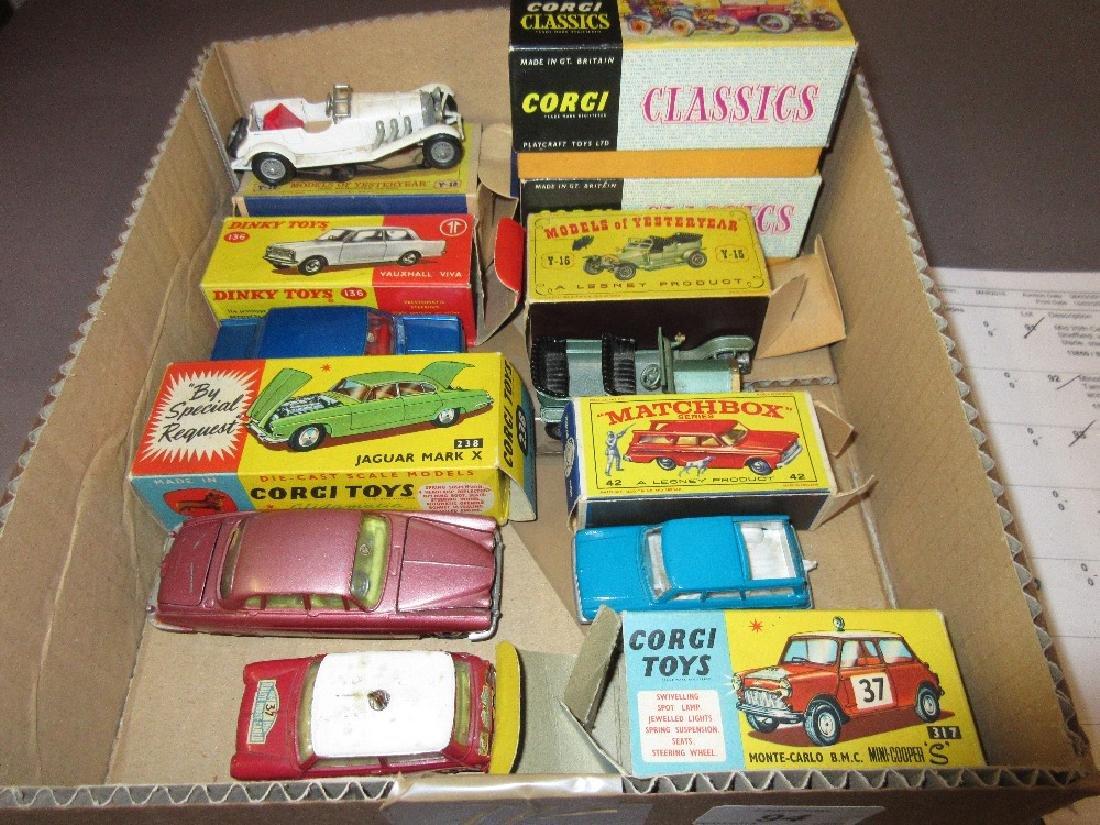 Corgi Toys No. 317 Monte Carlo B.M.C. Mini Cooper S in