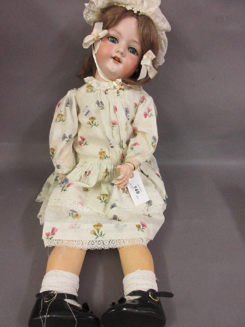 Armand Marseille bisque headed doll marked 390 DRNG