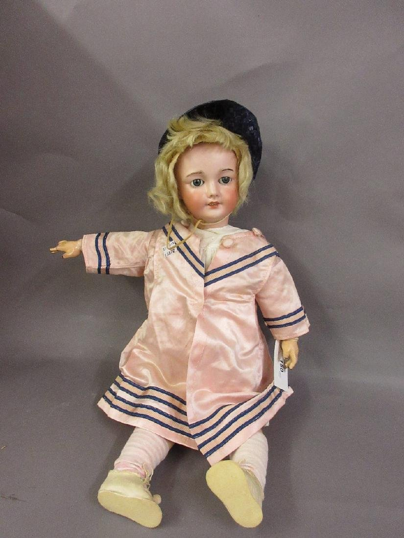 S.F.B.J. 301 marked bisque headed doll having jointed