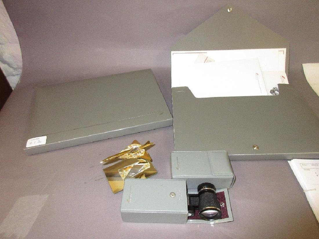 Quantity of various Concorde related items including: