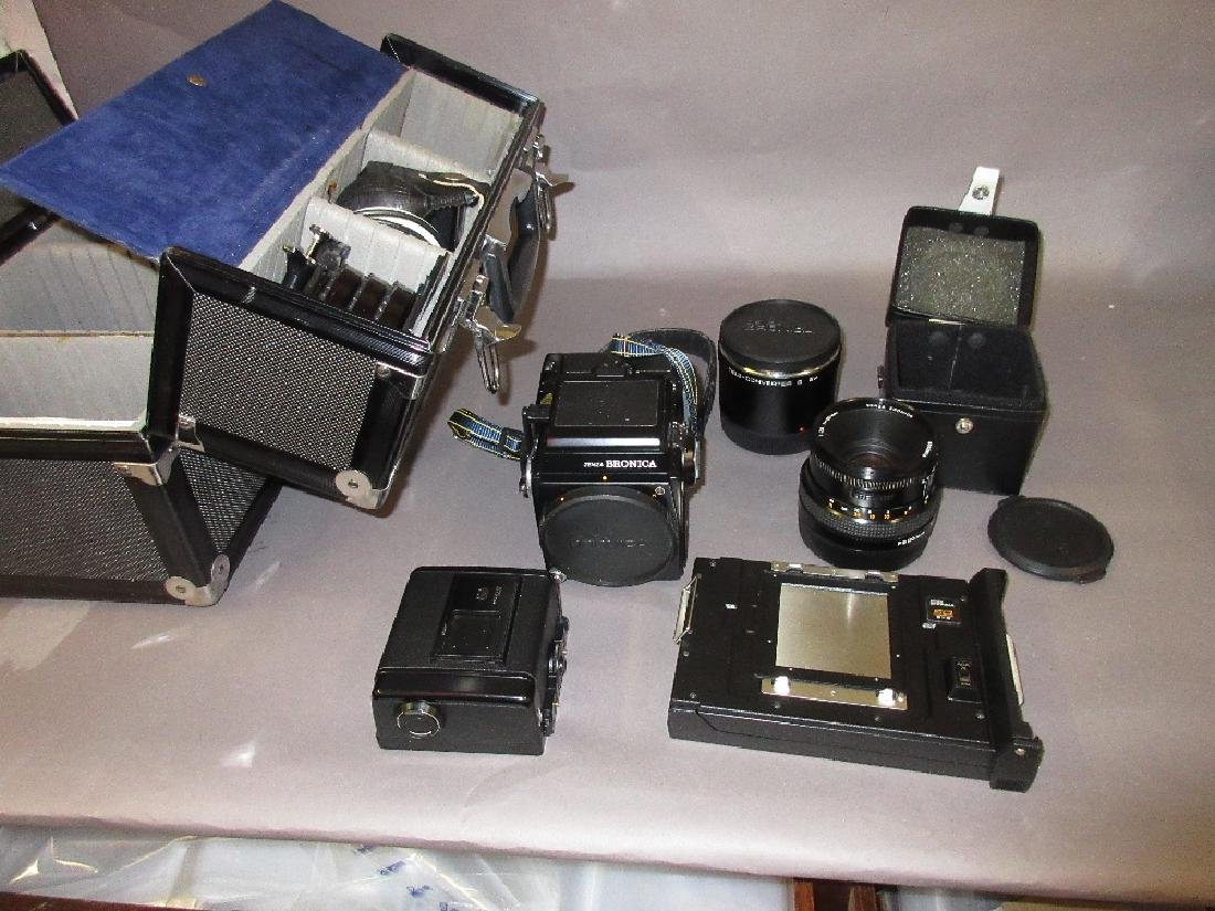 Zenza Bronica SQ- A medium format camera outfit with