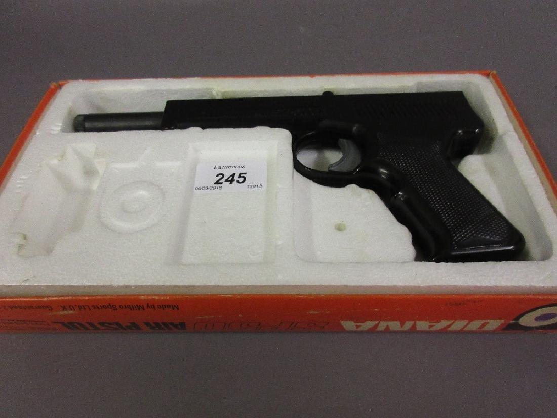Diana .177 air pistol in original box