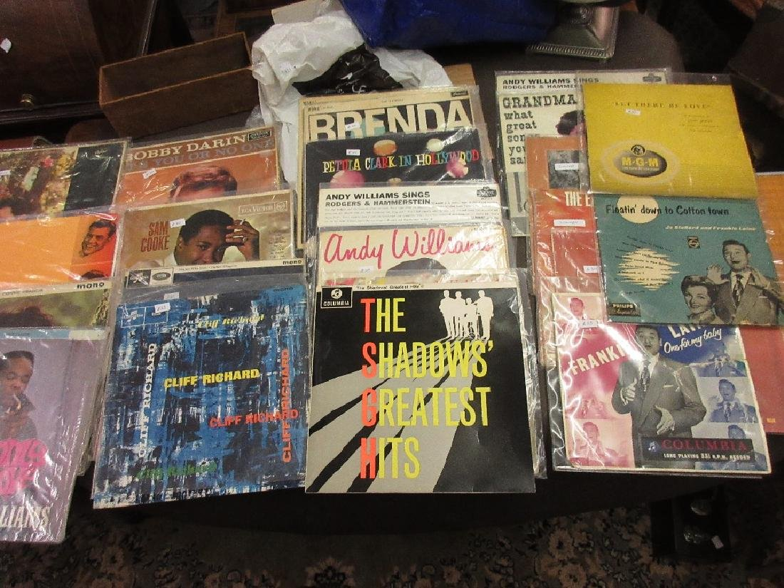 Quantity of long playing vinyl records including: