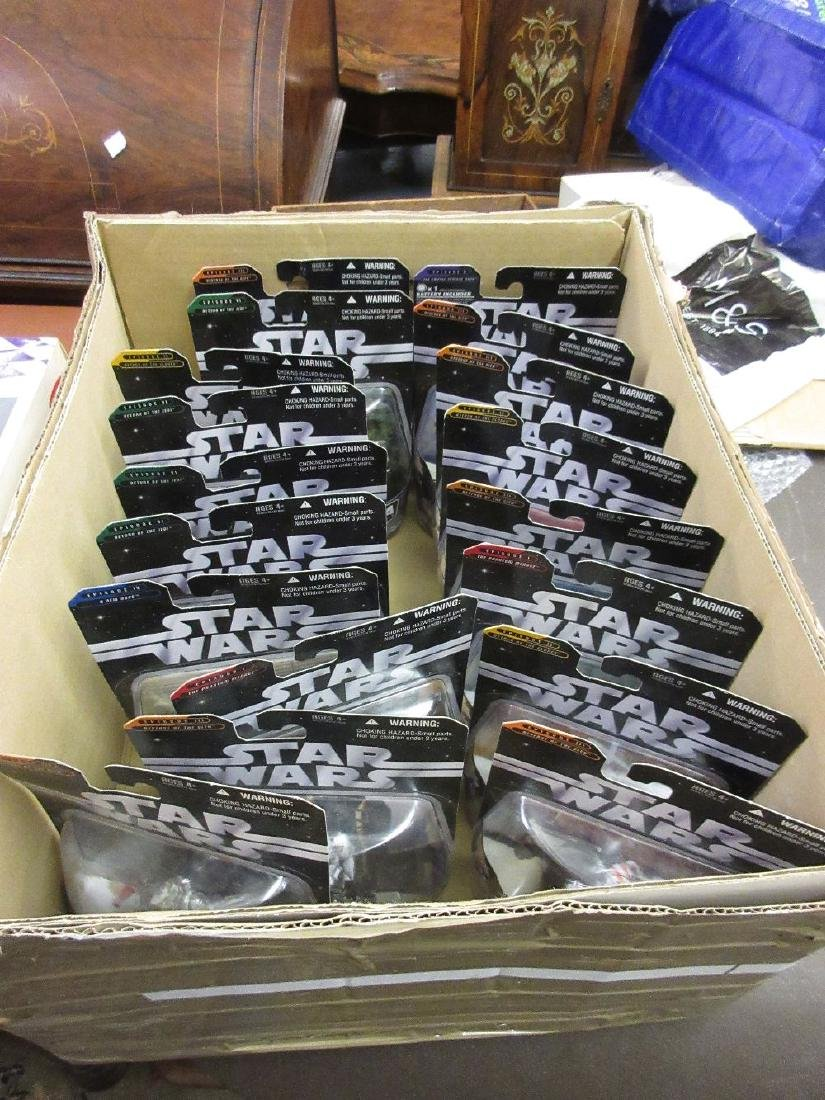 Large quantity of Star Wars 'The Saga' collection