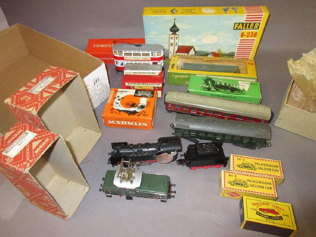 Marklin 3001 electric model locomotive in original box,