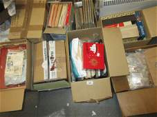 Eight boxes containing a large collection of various