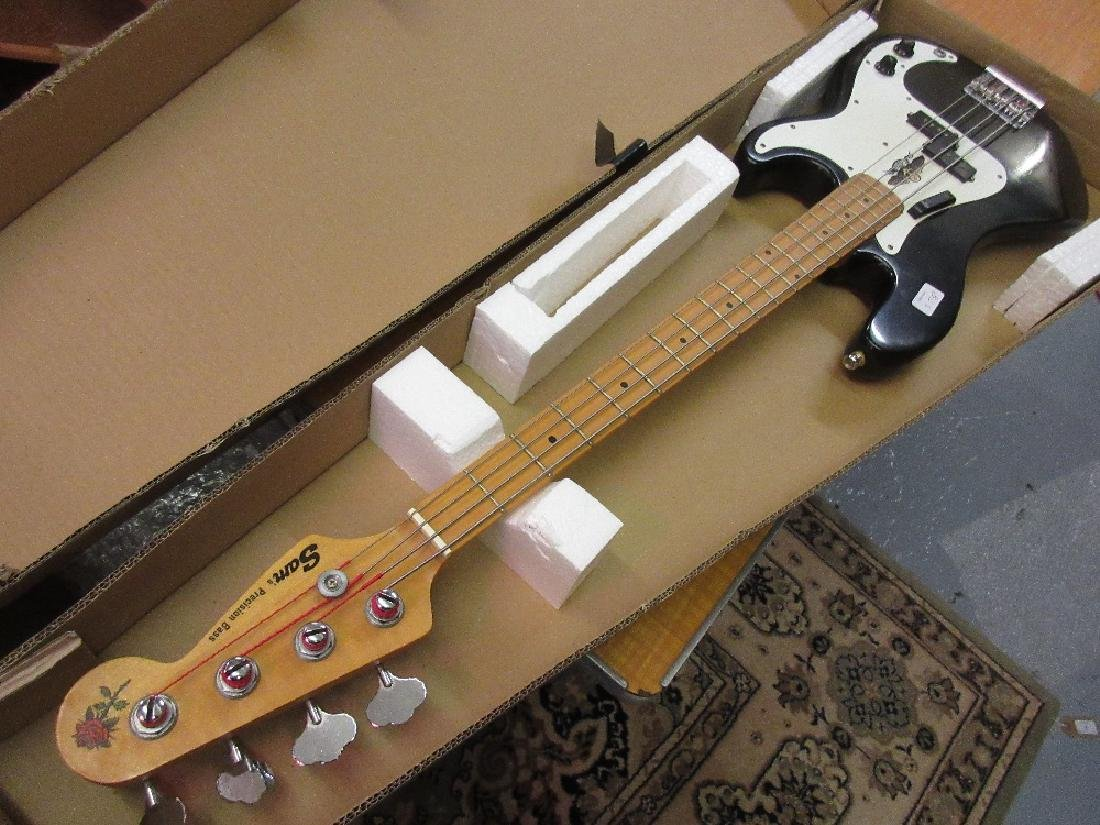 Fender style precision type bass guitar