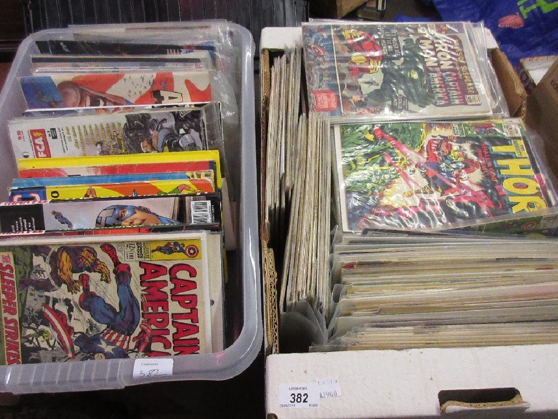 Large quantity of Captain America, Iron Man, Thor and