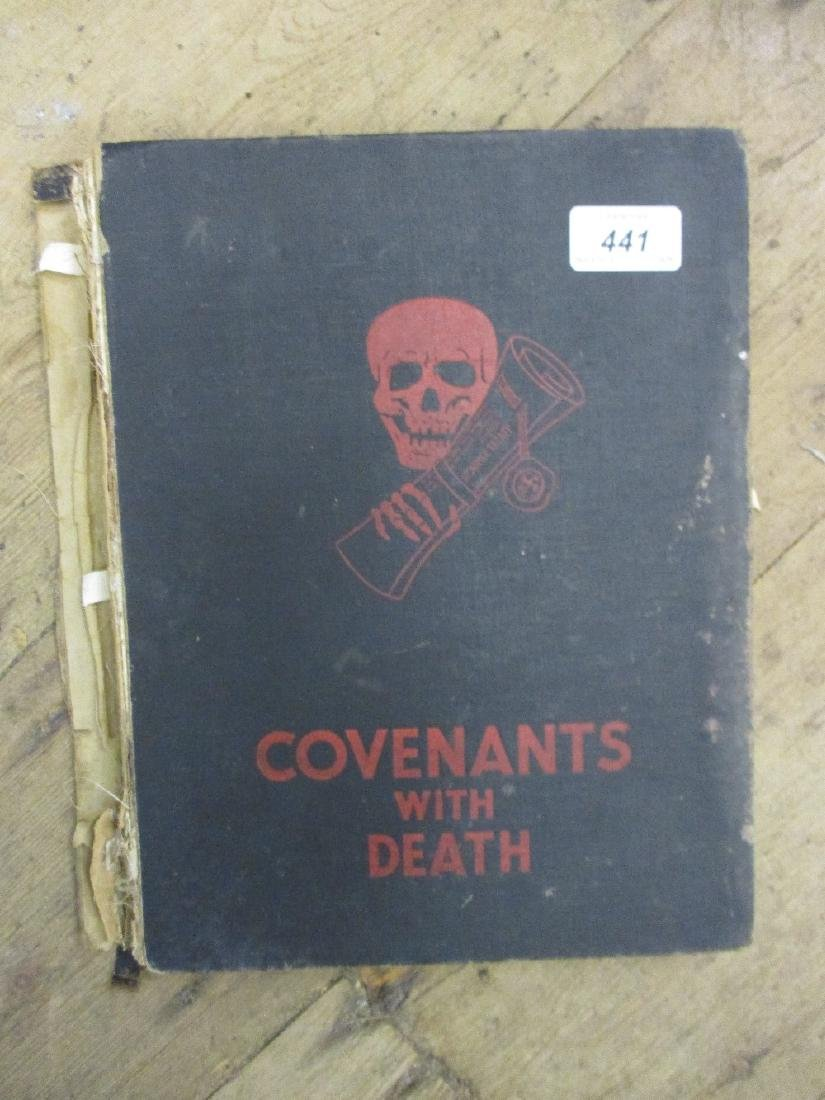 One volume ' Covenants with Death ' (at fault)