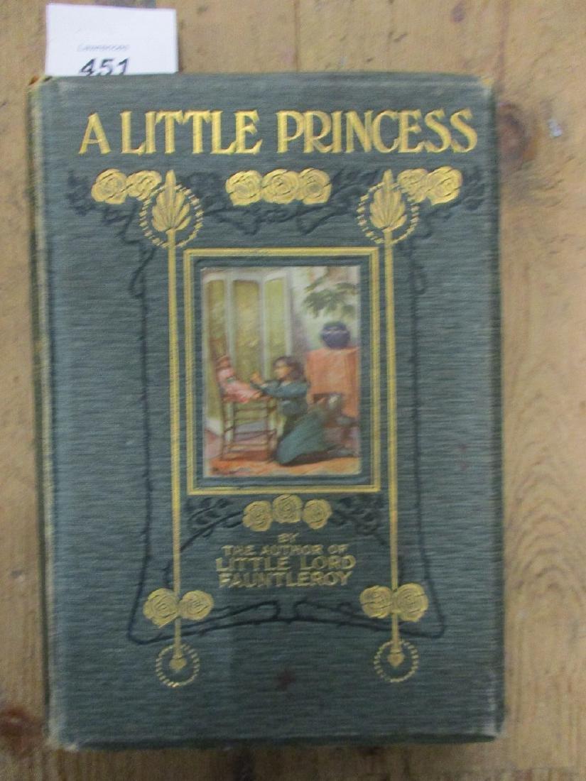 Frances Hodgson Burnett, 1905 First Edition volume ' A