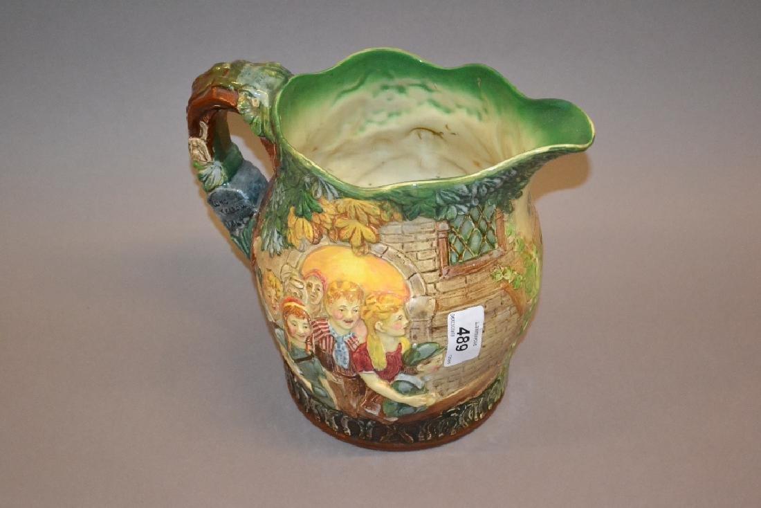 Royal Doulton Limited Edition jug, ' The Village