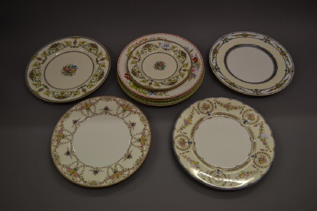 Minton Talbot pattern dinner and side plate together