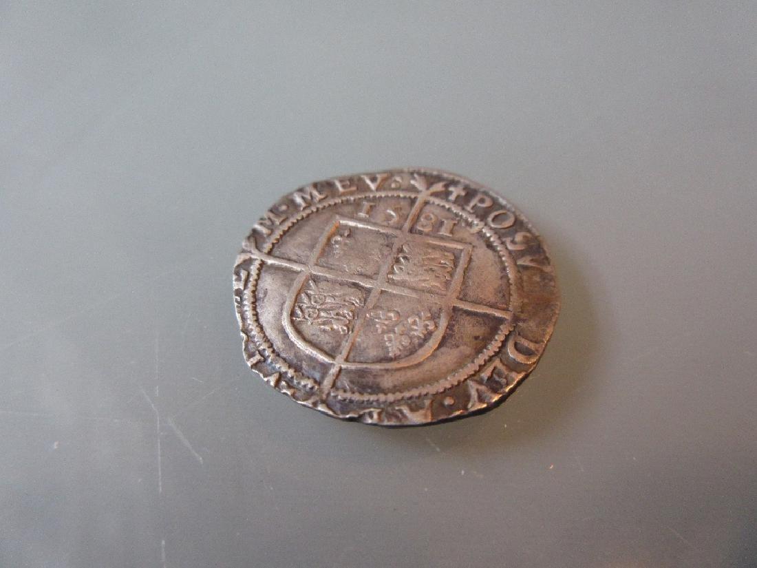 Elizabeth I Silver Groat, 1581