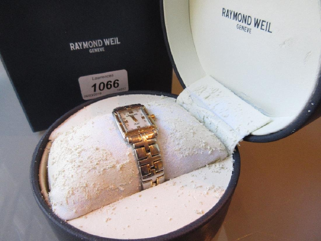 Raymond Weil, ladies steel and gold cased wristwatch