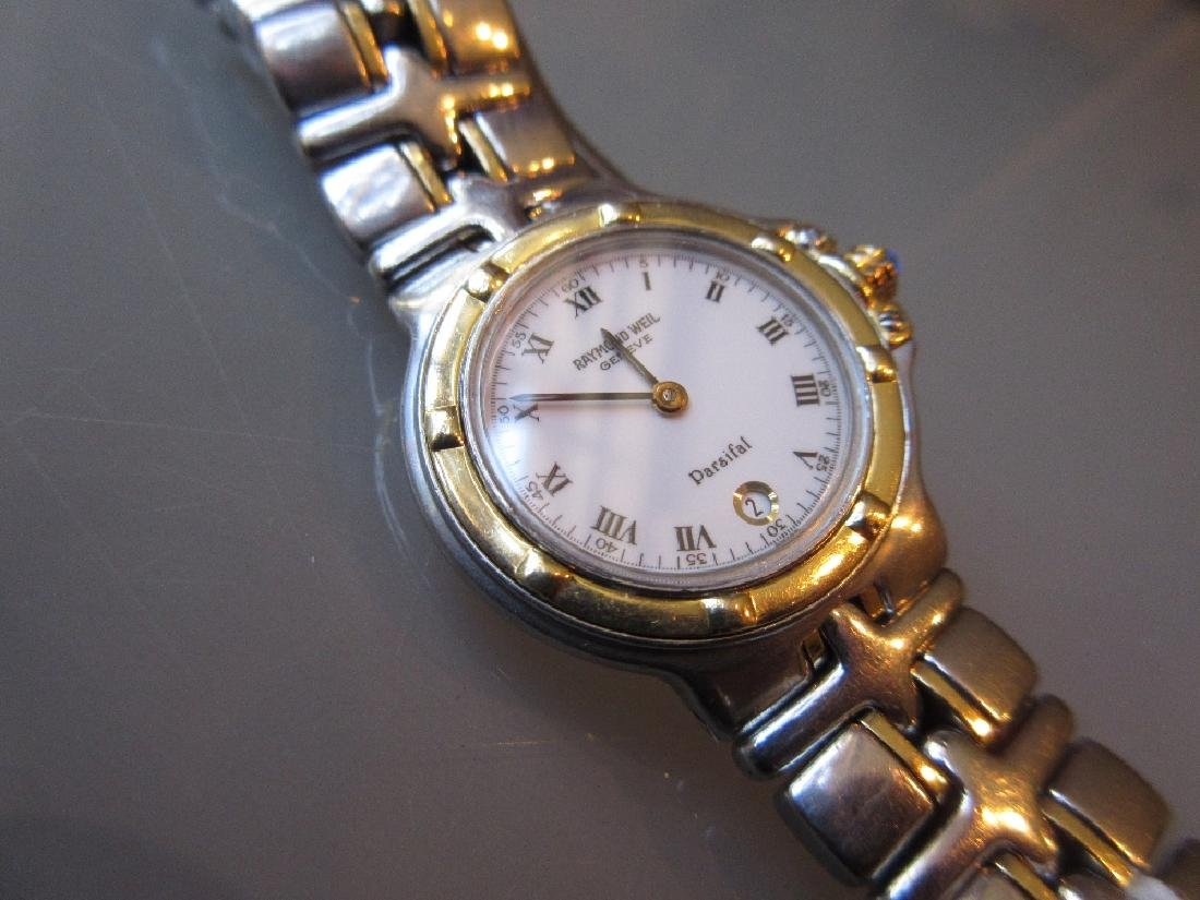 Raymond Weil, ladies steel and gold mounted wristwatch