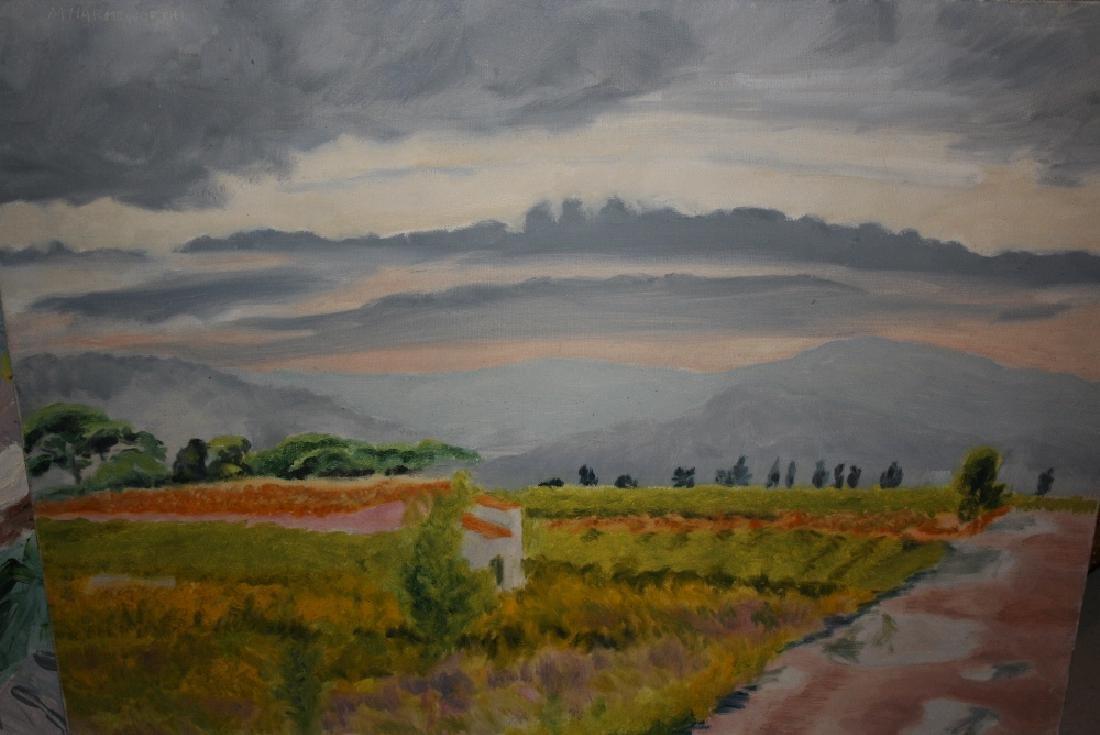 Margaret Harmsworth, 20th Century oil on canvas,