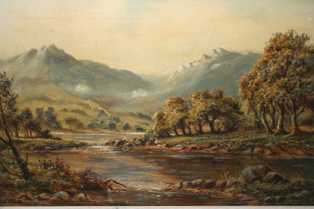 Sidney Yates Johnson, monogrammed oil on canvas,