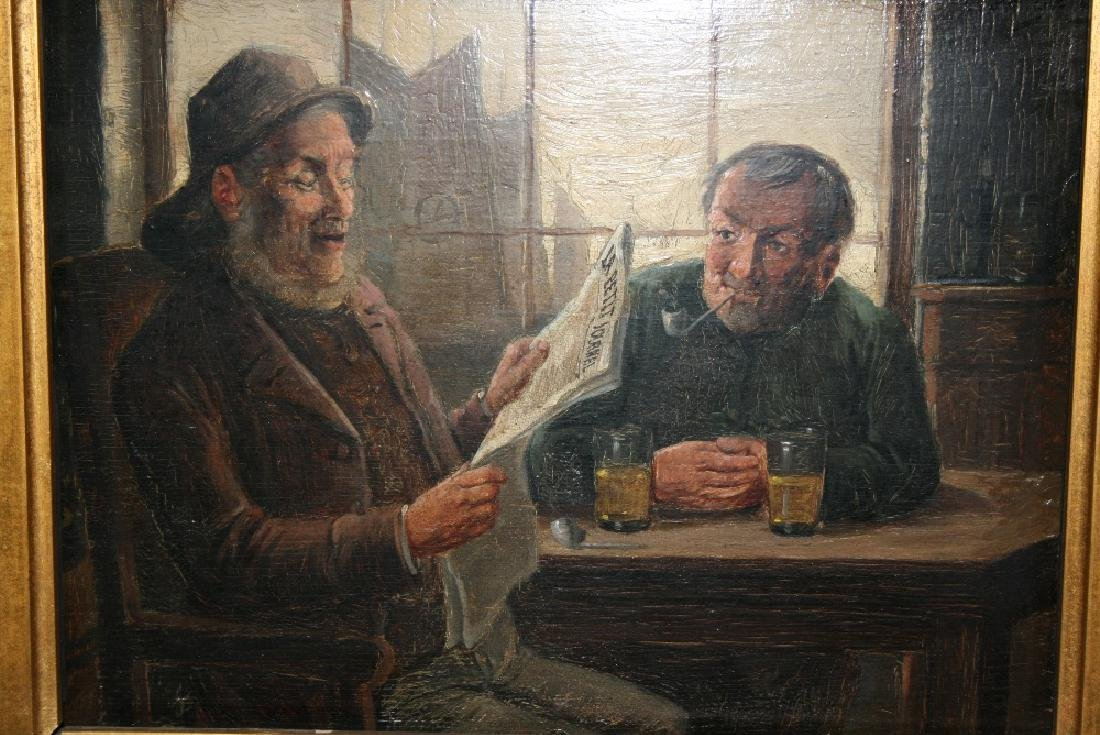 C. Stoitzner,  late 19th / early 20th Century oil on