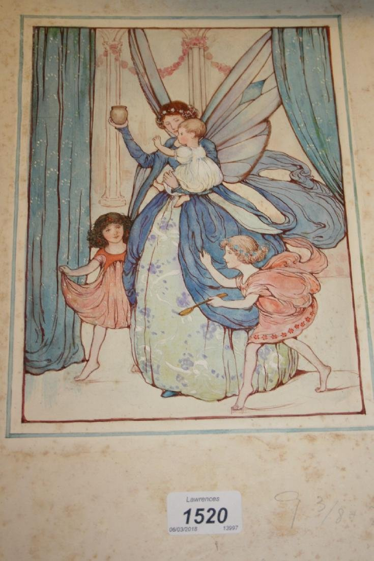 Attributed to Dorothy Fitchew, watercolour for