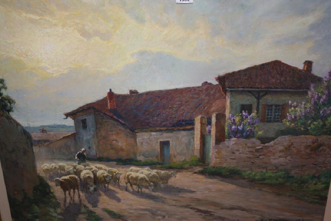 Claude - Honoré Hugrel, large pastel, The French