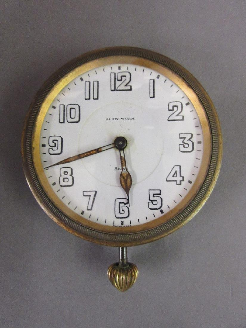 Octava, early 20th Century dashboard clock, the enamel