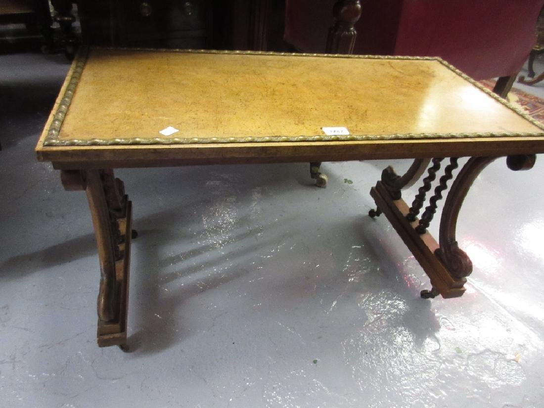 Victorian mahogany rectangular occasional table on