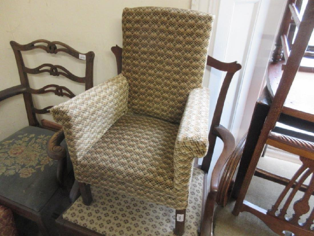 Child's upholstered armchair
