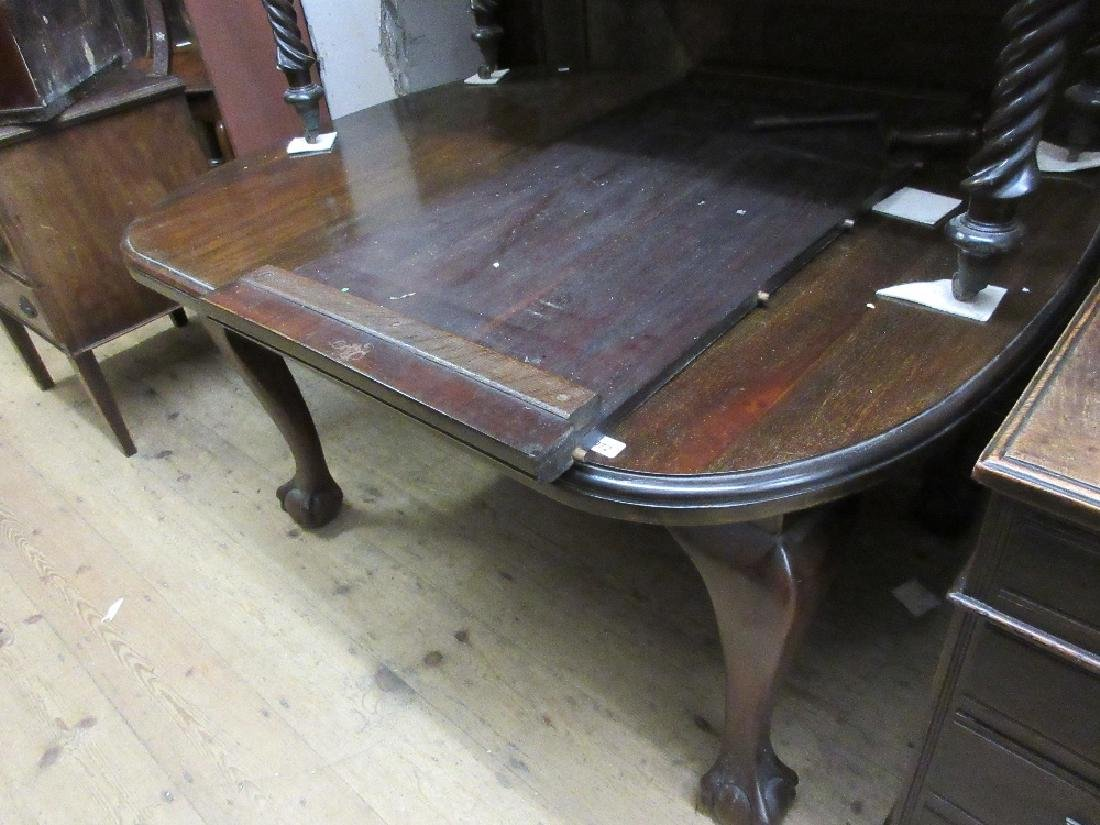Early 20th Century mahogany dining room suite