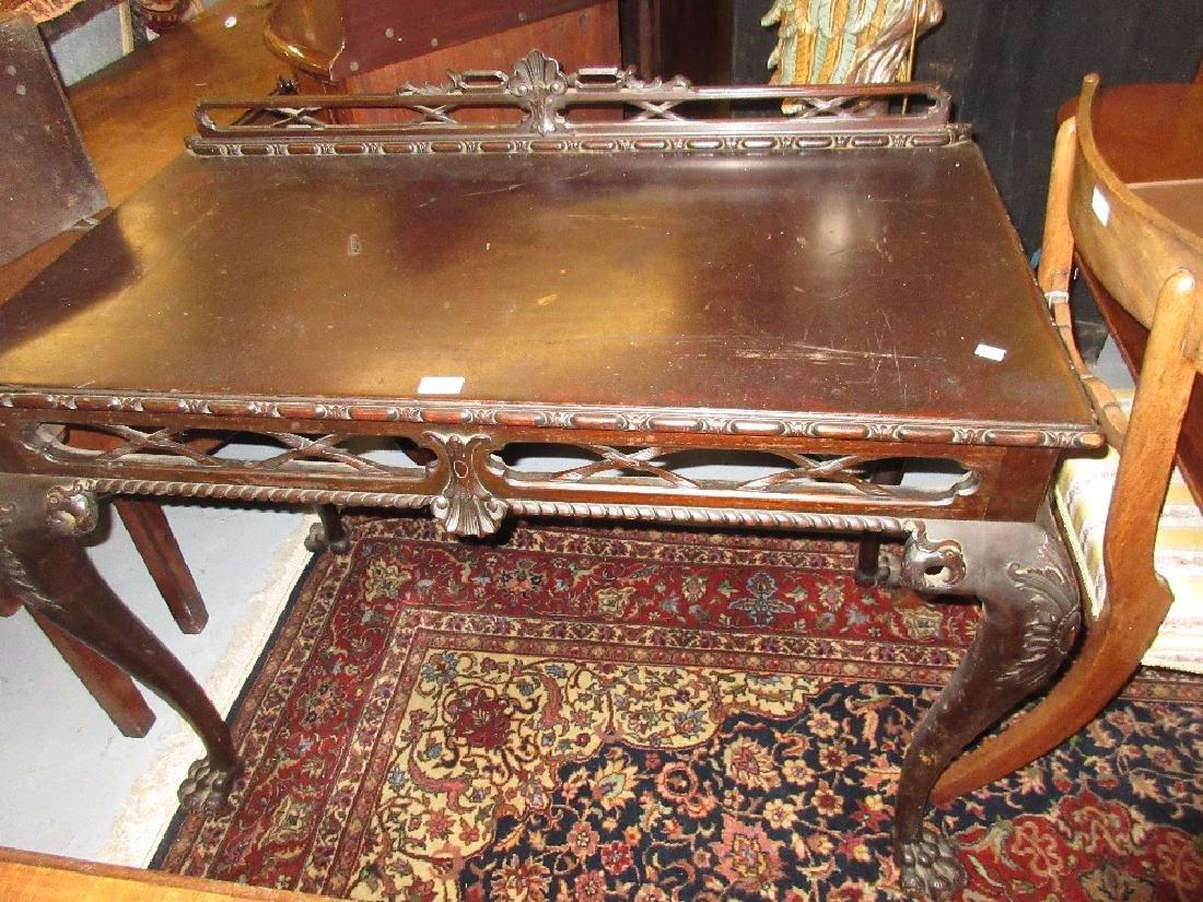 Early 20th Century mahogany side table in Irish