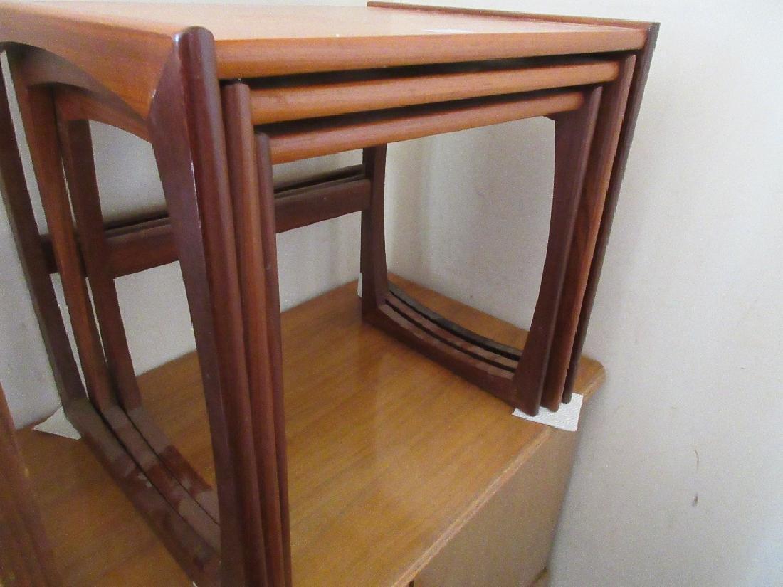 G Plan nest of three teak coffee tables