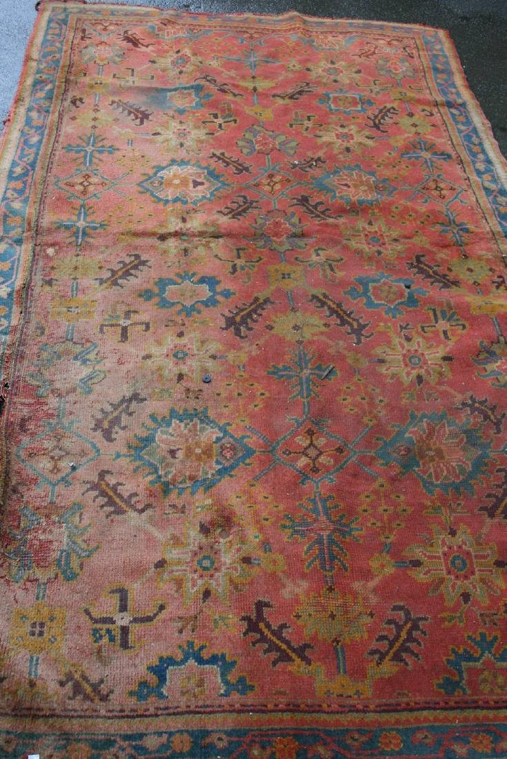 Turkey runner with an all-over stylised floral design