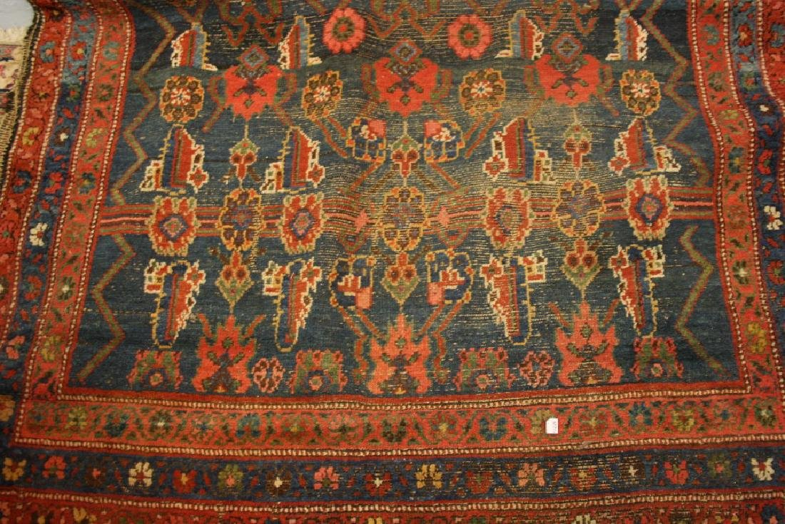 Kurdish rug of all-over floral design with multiple